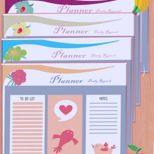 Daily record to-do-list planner