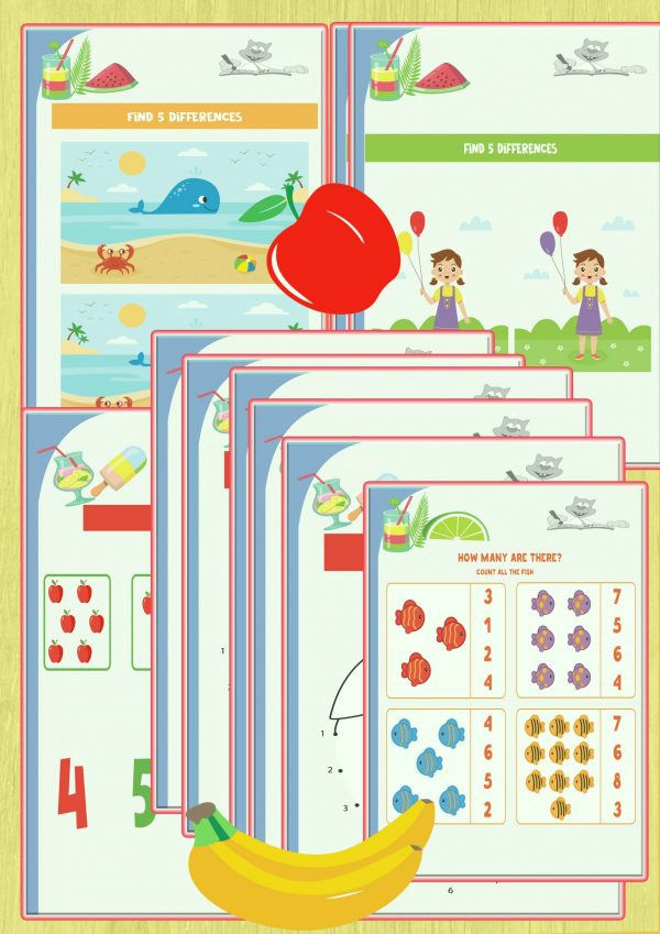 FUN FOR KIDS WORKSHEETS