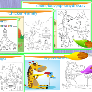 printable coloring pages for kids with cute pictures